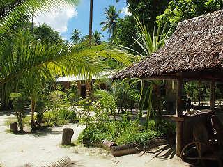 Tauchbasis im Lissenung Island Resort