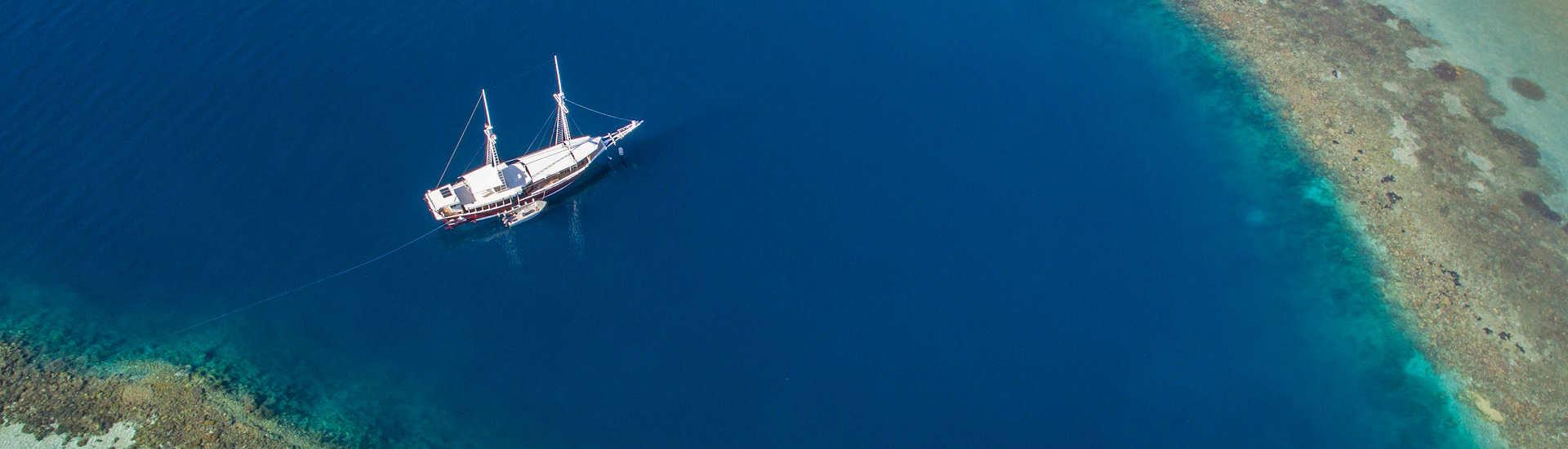 Das Safariboot Duyung Baru – Komodo, Indonesien