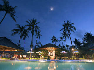 Infinity-Pool des Resorts