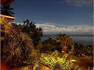 Blick auf Manado Tua