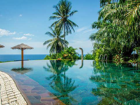 Pool im Lumbalumba Diving Resort