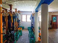 Equipment- und Trockenraum