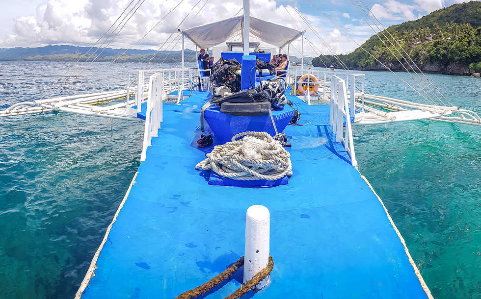 Tauchboot Magic Ocean Dive Center – Anda, Bohol