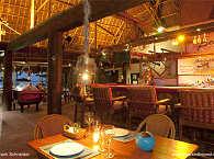 Restaurant und Bar des Kokay's Tauchresort auf Malapascua