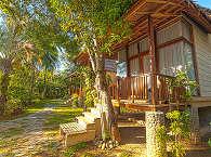 freistehender Bungalow des Maluku Resorts