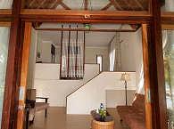 geräumiger Wohnbereich eines Cottages