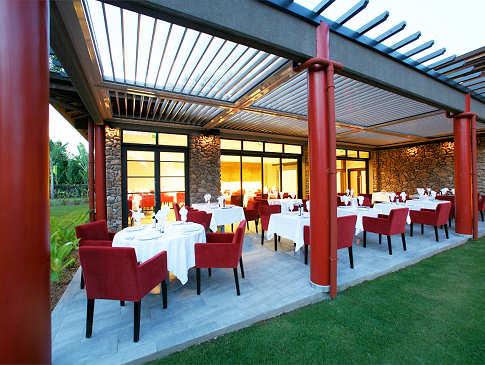 Vaitohi Restaurant im Garten