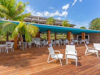 Taapuna Restaurant an der Lagune