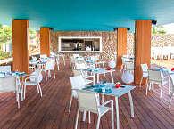 Taapuna Restaurant an der Lagunenseite