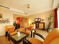 Wohnbereich einer der Suiten