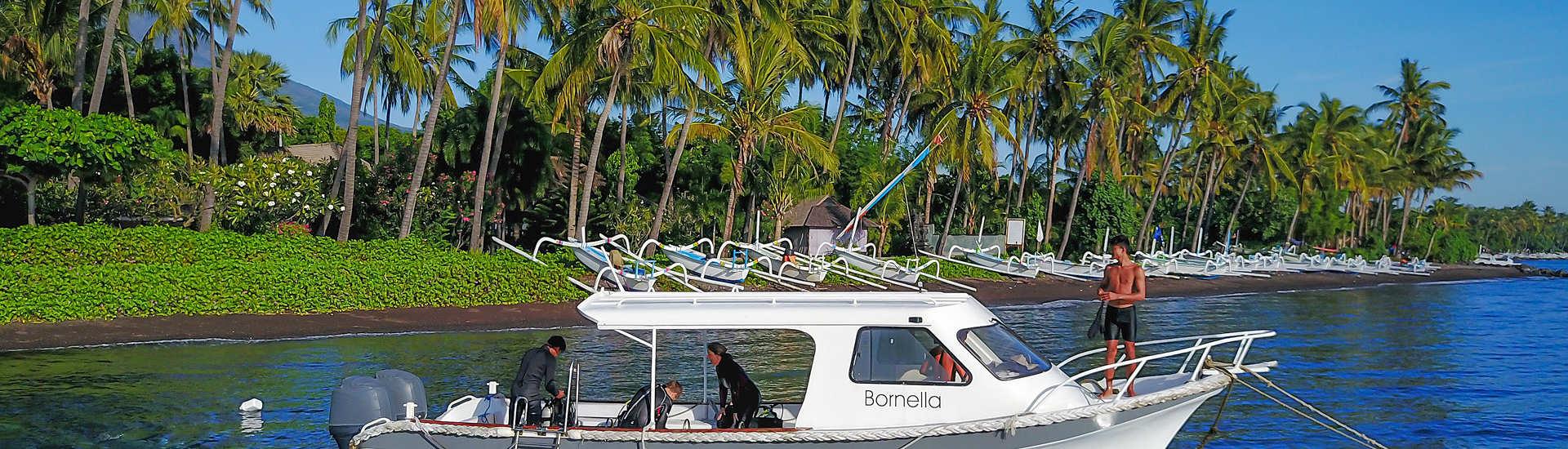 Bootstauchgänge um Tulamben mit den Markisa Divers – Bali, Indonesien