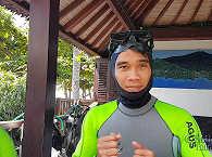 Tauchbasis der Markisa Divers bei Tulamben auf Bali – Indonesien