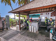 """Die Tauchbasis """"Markisa Divers"""" bei Tulamben – Bali, Indonesien"""