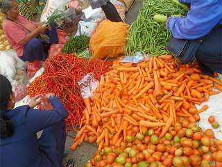 Besuch traditioneller Märkte