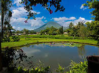 Vulkan Lokon im Minahasa Hochland – Nord Sulawesi