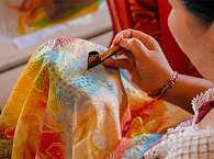 traditionelles Handwerk des Minahasa Hochlands auf Sulawesi