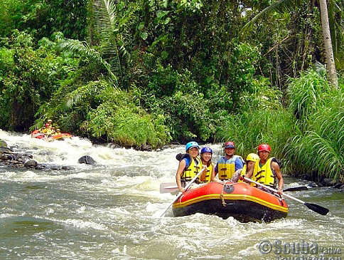 White Water Rafting – Minahasa Highlands