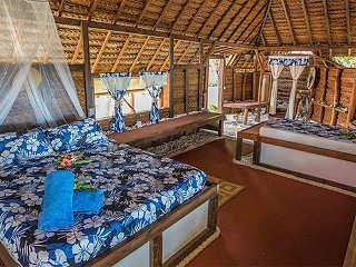 Geräumiger Bungalow mit drei Betten