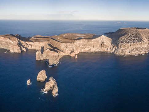 San Benedicto Island nahe Socorro