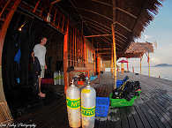 Tauchbasis der Papua Explorers