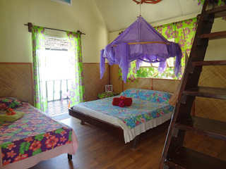 Pension Veke Veke Village – Bungalow innen