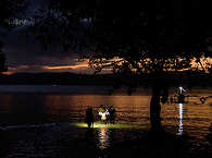 Nachttauchgäng mit der Tauchbasis Ducks Diving