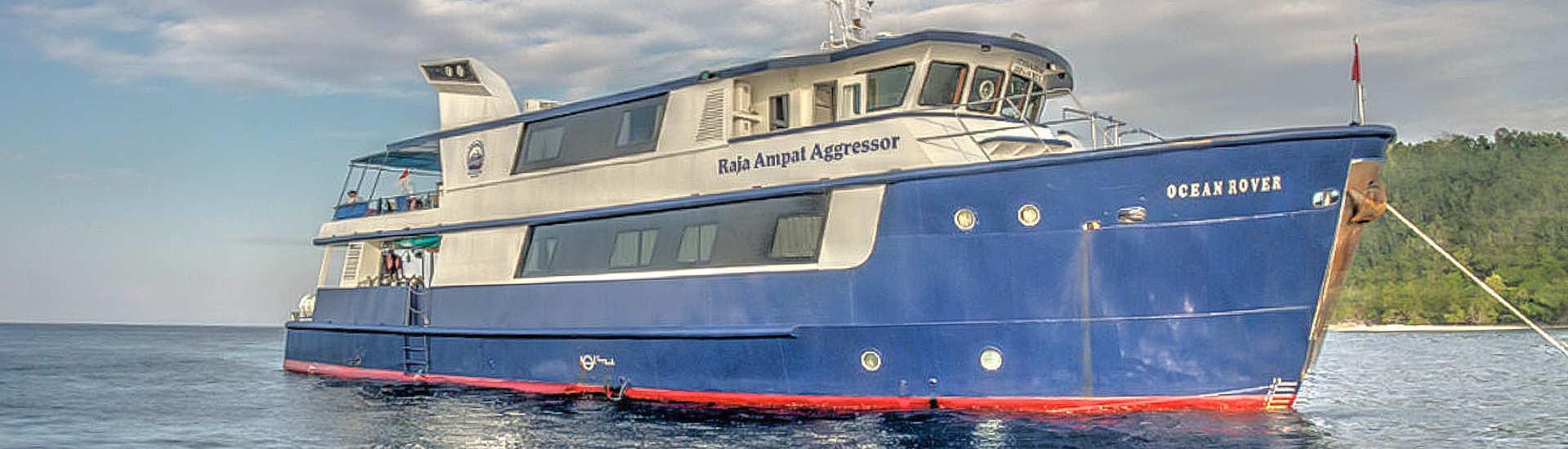 früher Ocean Rover – heute Raja Ampat Aggressor