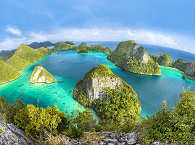 Wayag Islands in Raja Ampat – Indonesien