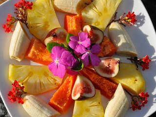 Typische Früchte in Französisch Polynesien