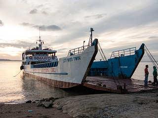 Fähre von Negros nach Cebu (Philippinen)