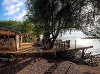 Blick auf den Tiputa Pass – Les Relais de Josephine, Rangiroa
