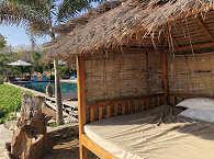 Tagesbette im des Kalimaya Dive Resorts