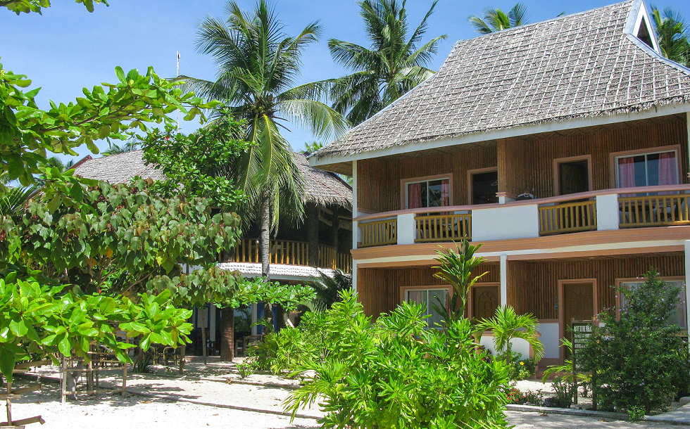 Das Hippocampus Beach Resort auf Malapascua  – Philippinen