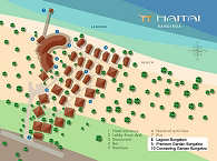 Lageplan Maitai Hotel Rangiroa