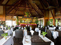 Restaurant im Maitai Hotel Rangiroa, Franz. Polynesien