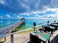 Essen und Trinken mit fantastischer Aussicht – Maitai Hotel Rangiroa