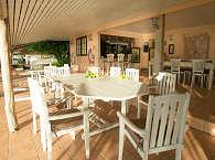 Restaurant im Relais de Joséphine – Franz. Polynesien