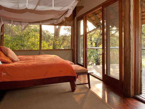 Zimmer in der Rhino Post Safari Lodge – Kruger Nationalpark – Südafrika