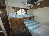 Doppelkabine mit 2 Einzelbetten