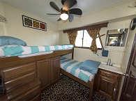 Doppelkabine mit Einzelbetten