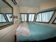 Doppelkabine des Safariboots
