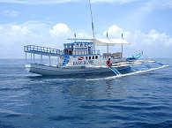 Safariboot Goyo – typische philippinische Bauweise Banca