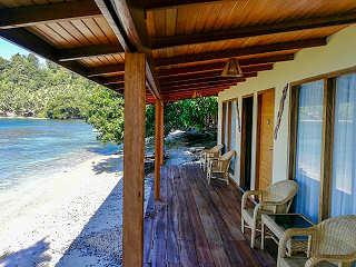 Divers Lodges auf Sali Kecil – Halmahera, Molukken