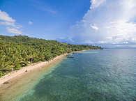 Küstenlinie – Sea Souls Dive Resort auf Bangka, Nord Sulawesi
