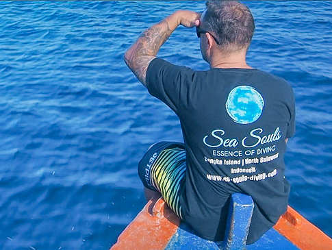 Sea Souls Tauchbasis auf Bangka Island in Nord Sulawesi, Indonesien