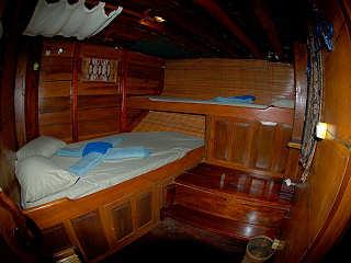 Doppelbett Kabine – KLM Shakti