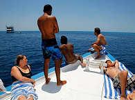 auf dem Tauch-Dhoni der MY Sheena – Safariboot Malediven