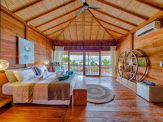 Strandvilla des Kuda Laut Dive Resort – Siladen Indonesien