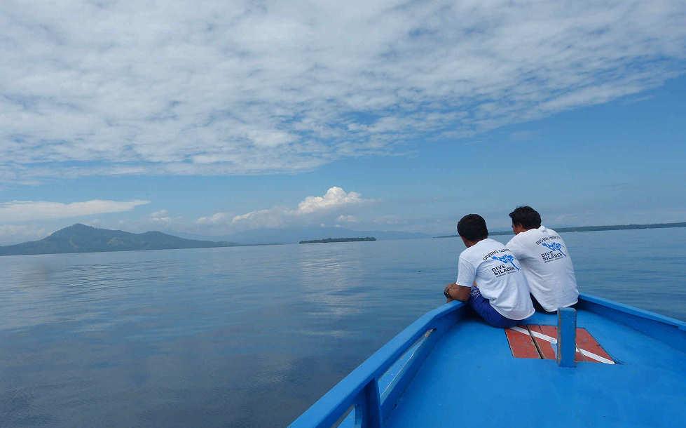 Tauchboot des Dive Resort