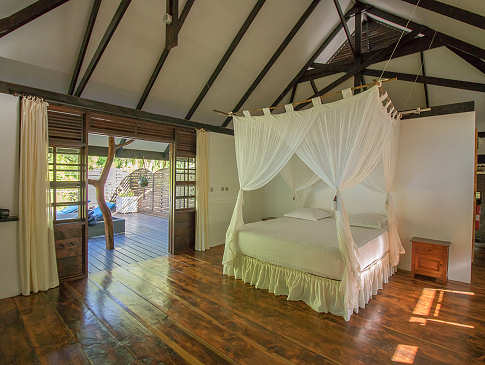 Suite in der Coconut Lodge – Rangiroa